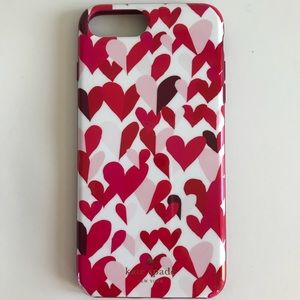 Kate Spade Live Colorfully Heart Phone Case